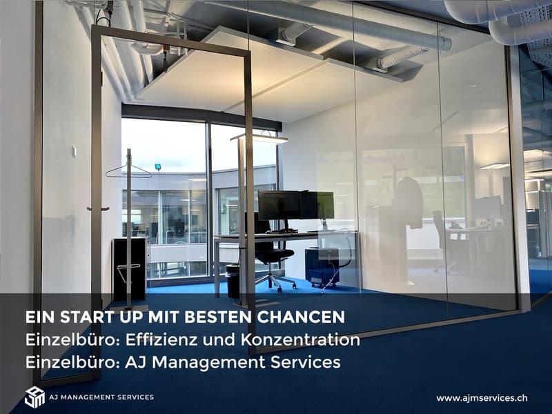 Einzelbüros für Start-Ups.