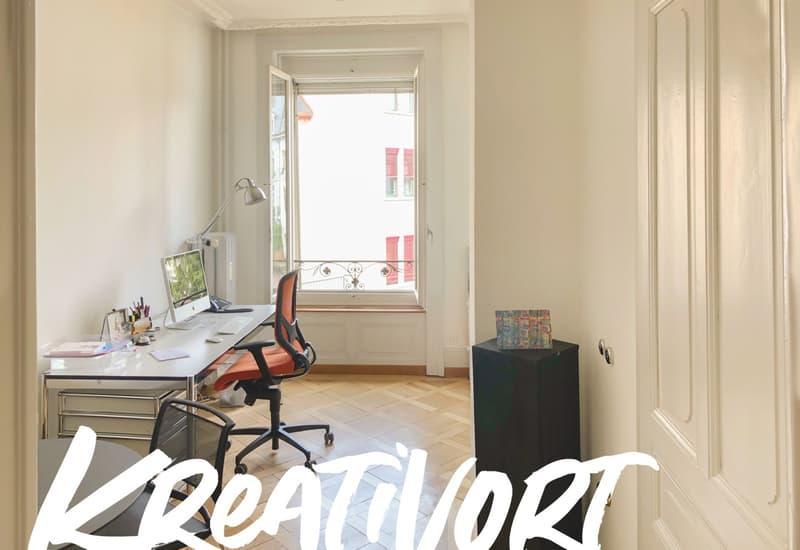 Zu vermieten: Jugendstil-Büroraum an Berner Toplage