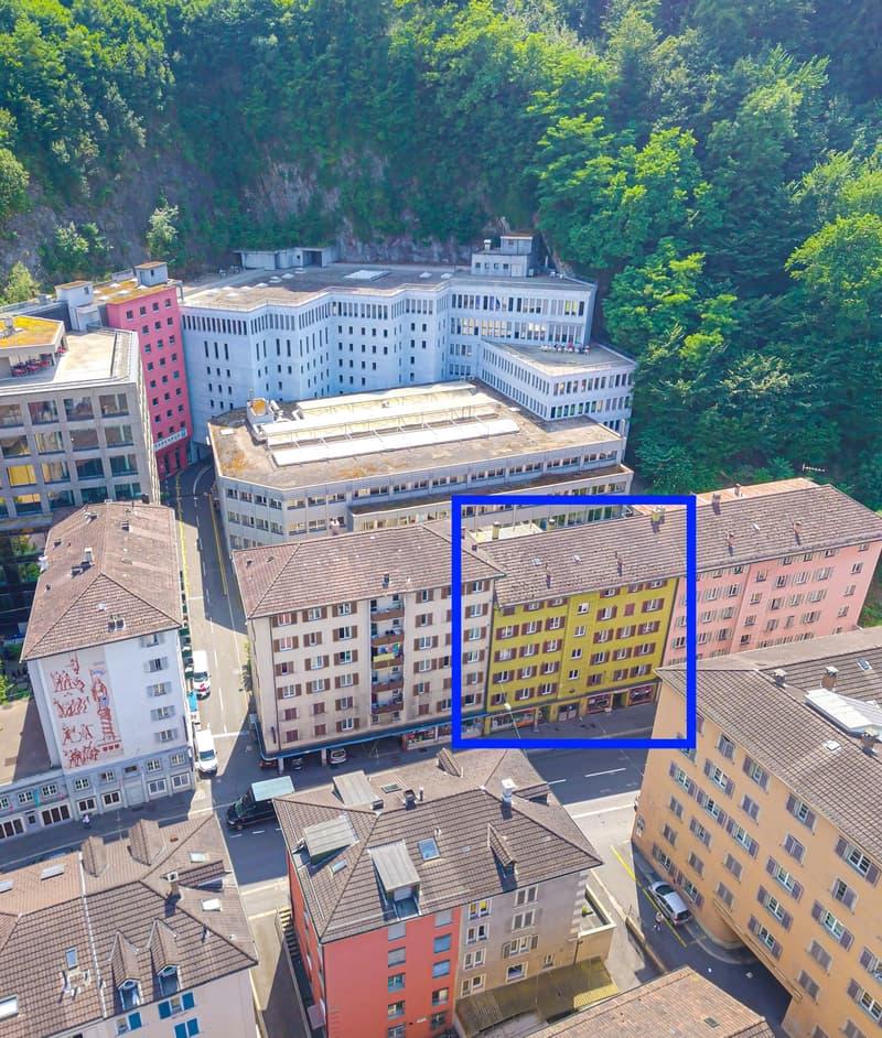Teilsanierte Wohnung an der Baselstrasse 63 - WG erlaubt