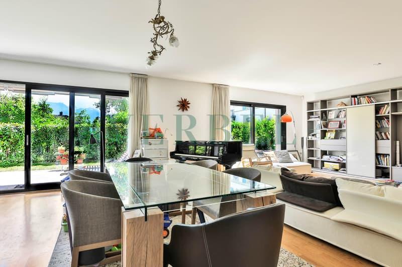 Très bel appartement de 158 m2 habitables avec terrasse-jardin