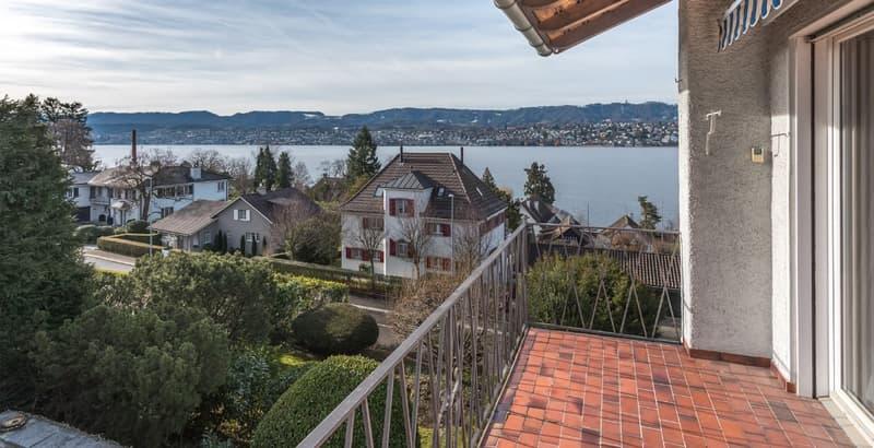 Einzigartige Sicht auf den Zürichsee