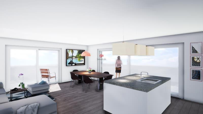 Beaux 3 pièces 1/2 avec balcon de 31 m² & Vue