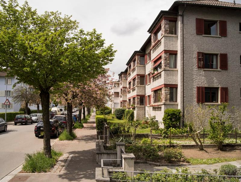 Wohnen im Grünen - trotzdem in der Stadt (1)