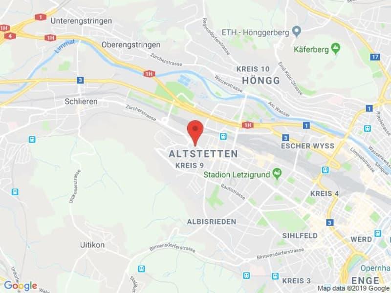 Badenerstrasse 727, 8048 Zürich - Lagerraum 570 m2