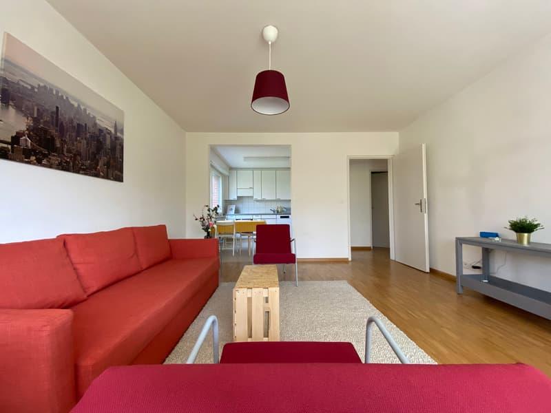 Zweckmässig eingerichtete Wohnung im Grünen (Neben Grün 80)