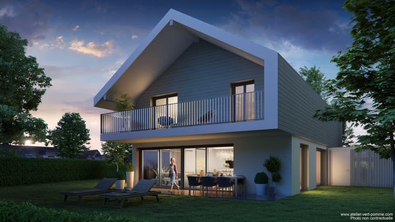 Luxueuse villa en cours de construction