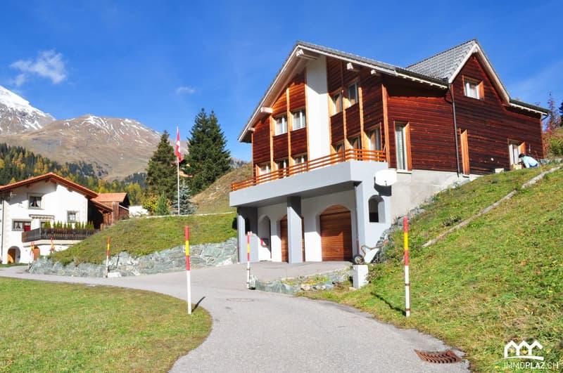 Mietobjekt - Chalet in den Bündner Bergen