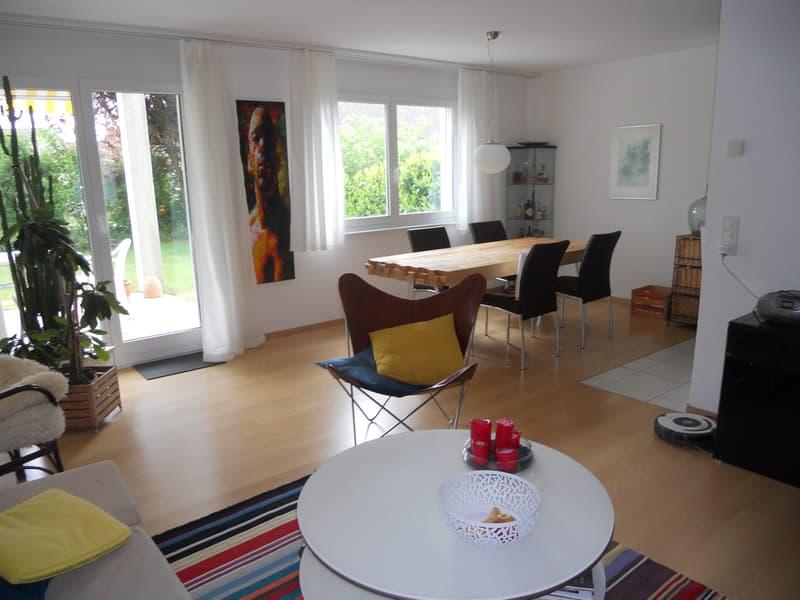 Moderne, helle, ruhige Gartenwohnung am Siedlungsrand (2)