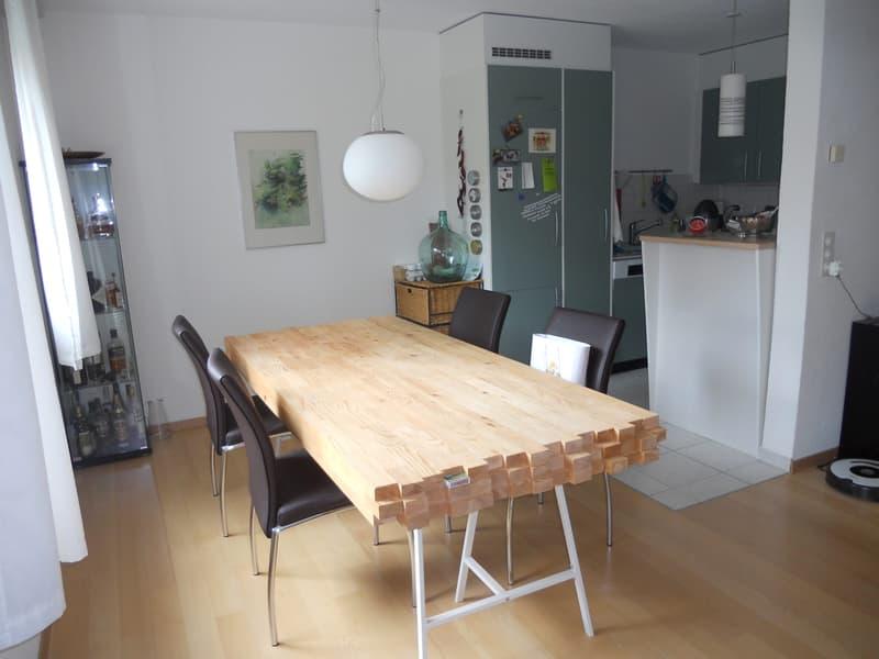 Moderne, helle, ruhige Gartenwohnung am Siedlungsrand (3)