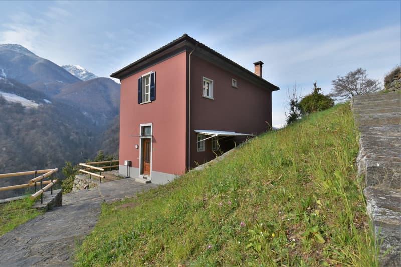 Meravigliosa casa unifamiliare di 4,5 locali a Corcapolo (residenza primaria) / Einzigartiges 4,5-Zimmer Einfamilienhaus in Corcapolo (Erstwohnsitz)