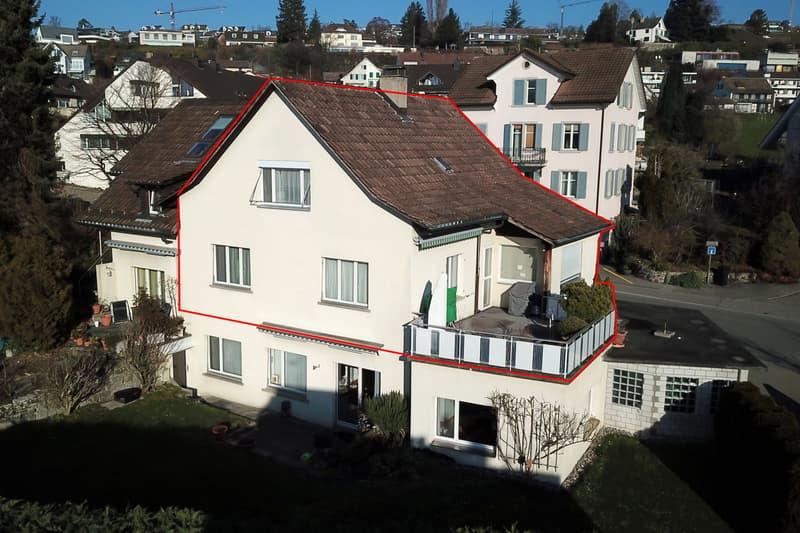 4 1/2-Zimmer-Maisonette-Wohnung in Herrliberg!