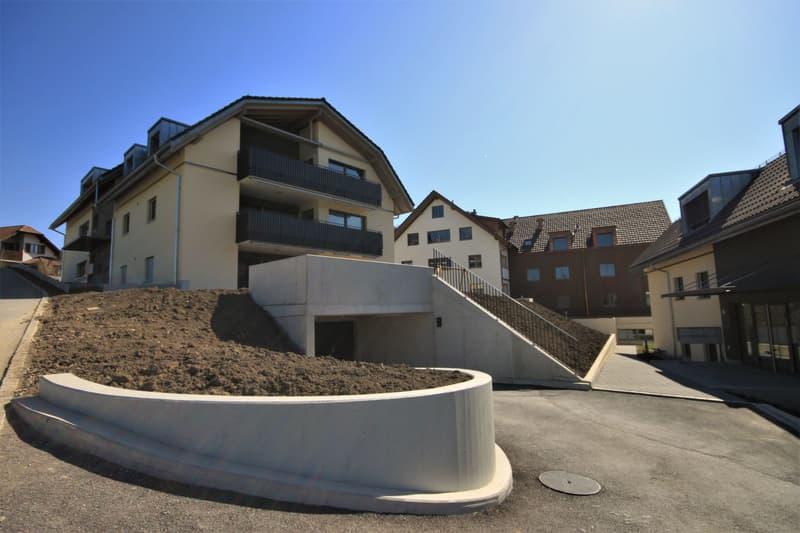 Moderne, attraktive 3 1/2 - Zimmer Eigentumswohnung im Dachgeschoss mit Estrich (1)