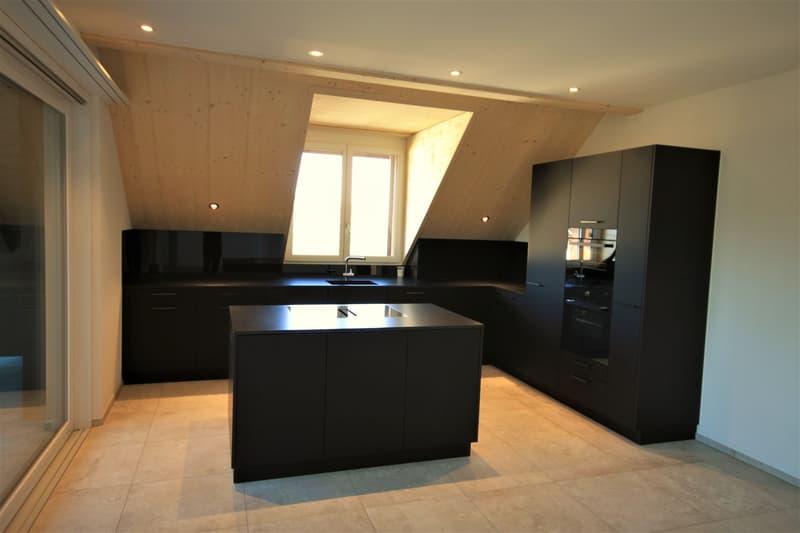 Moderne, attraktive 4 1/2 - Zimmer Eigentumswohnung im Dachgeschoss mit Estrich (2)