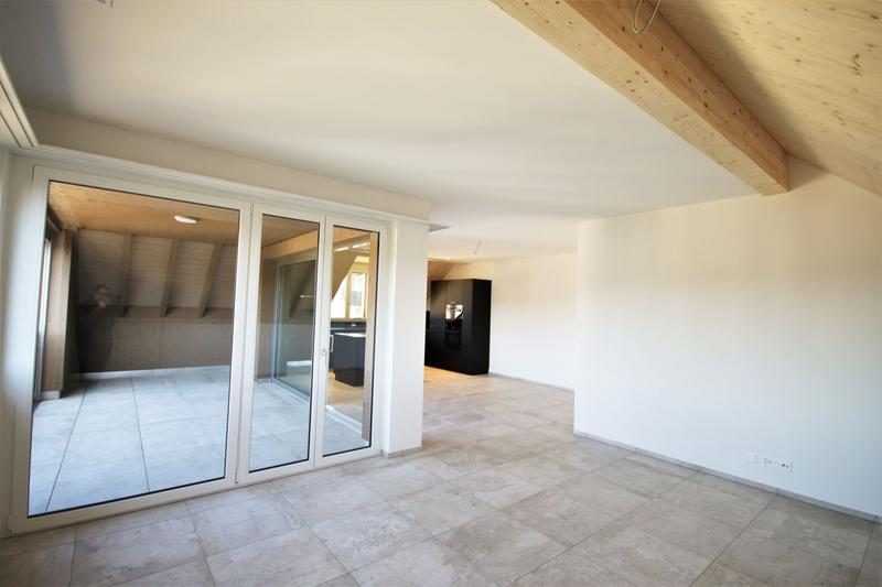 Moderne, attraktive 4 1/2 - Zimmer Eigentumswohnung im Dachgeschoss mit Estrich (4)