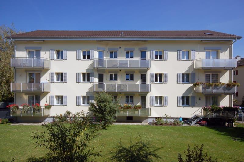 Kleine sonnige Wohnung in ruhigem Quartier, nähe Bus und Spital