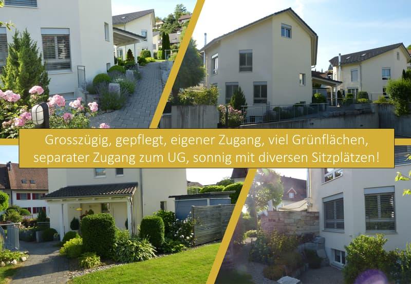 6,5 Zi. Plusenergie-EFH, in Luxus wohnen & leben mit gutem Gewissen, inkl. Tiefgaragenplätze (4)