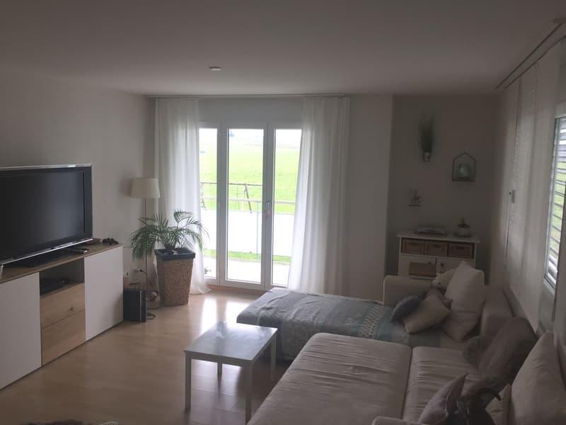 Ruhige Wohnung in ländlicher Umgebung nahe des Bodensees!