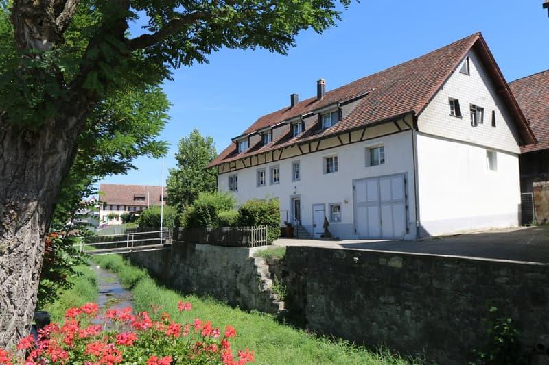Imposante Liegenschaft am Dorfbach