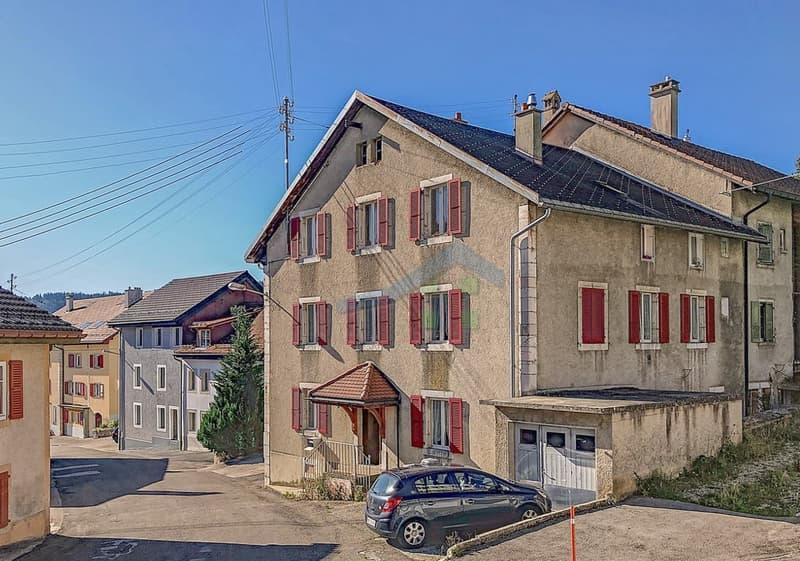 Maison locative de 3 appartements à rénover
