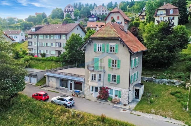 Maison locative de 4 logements (3 à rénover) Vue sur les Alpes