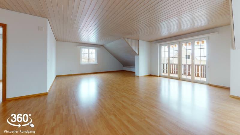 Helle 3,5 Zimmer-Wohnung im Grünen