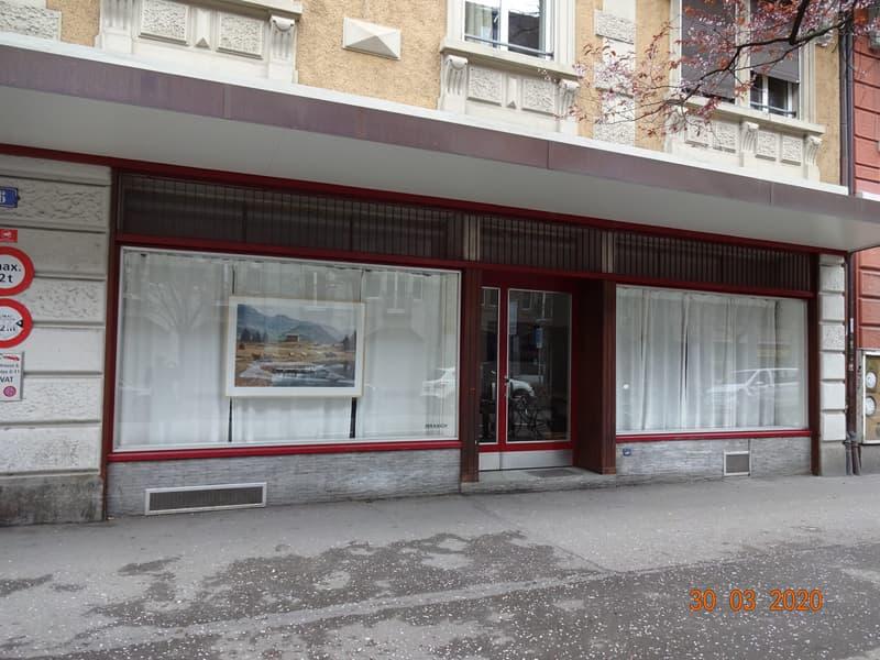 Ladenlokal im trendigen Sihlfeld an Top-Lage Nähe Lochergut (1)