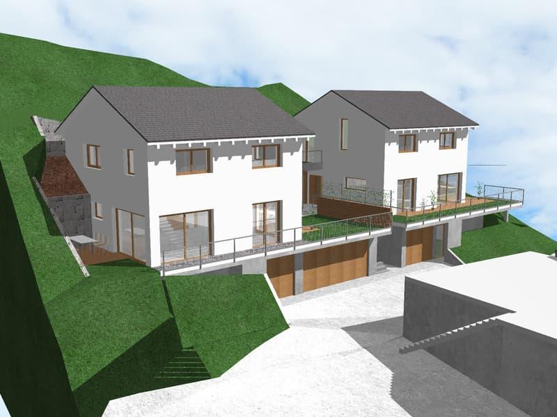 NEUBAU von zwei attraktiven, freistehenden Einfamilienhäuser