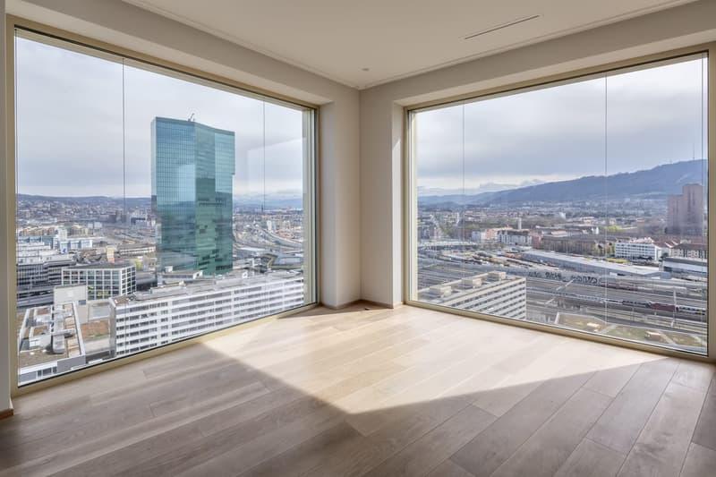 Luxuriöses Wohnen im Trendquartier Zürich-West