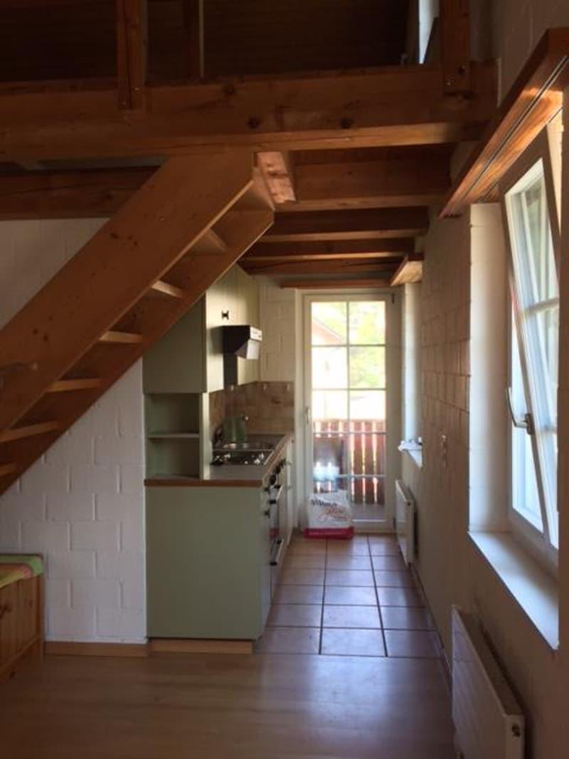 Küche, Balkonausgang