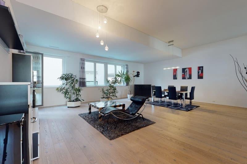 Trendige Loftwohnung im neuen Richti-Quartier