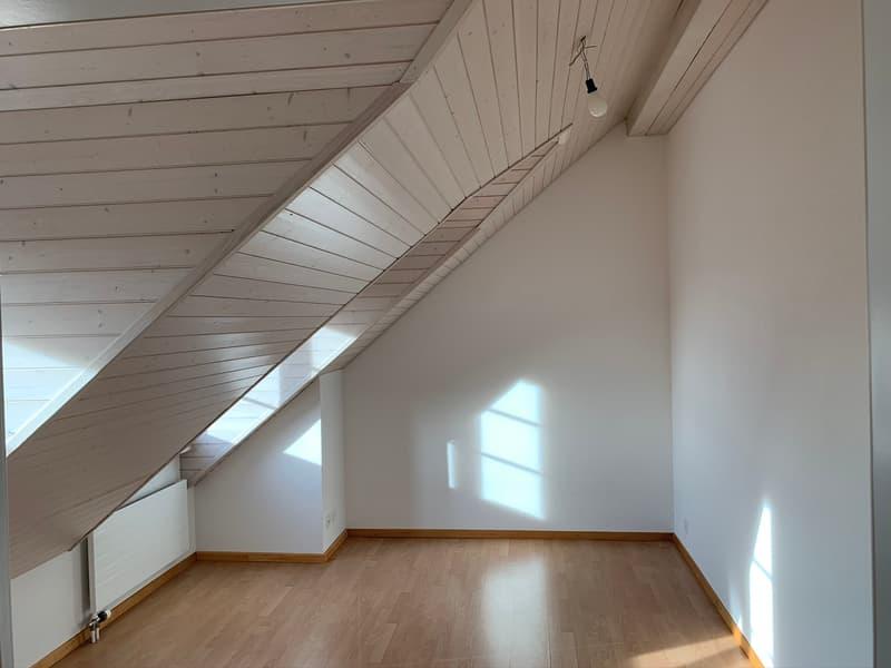 Grosszügige 2. Zimmer-Dachwohnung