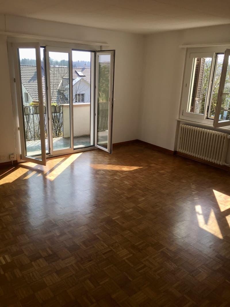 4-Zimmer-Wohnung in Zweifamilienhaus mit viel Privatsphäre