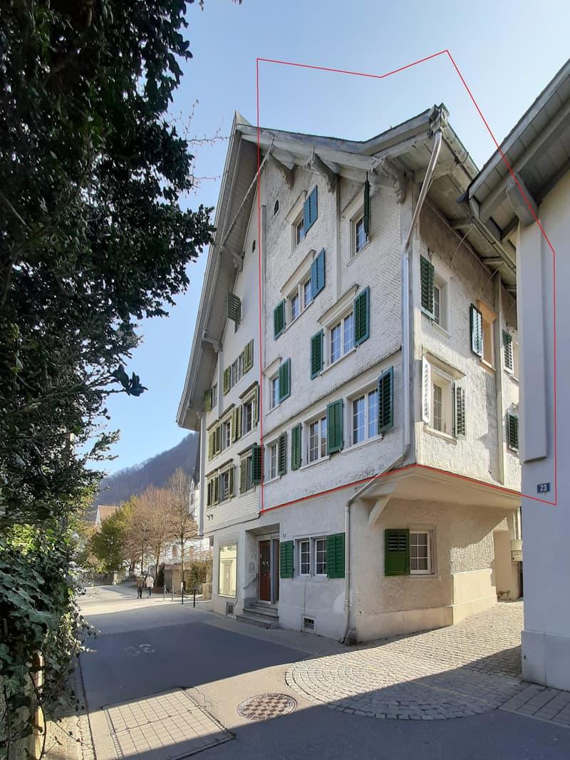 Historisches Doppelhaus mit Schopf im Dorfkern (3)