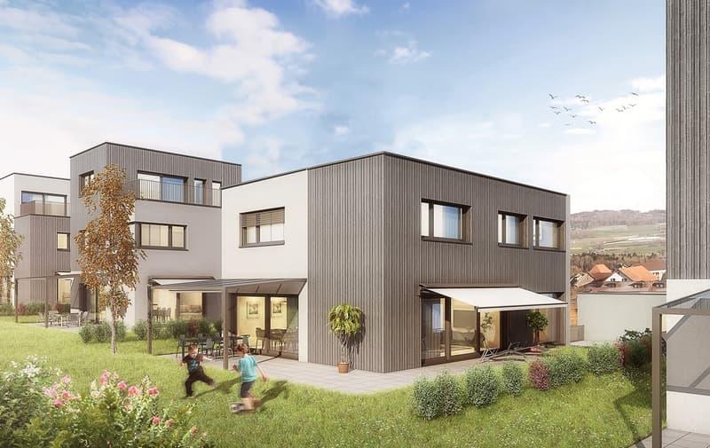 Top-moderne und qualitativ hochwertige Häuser in Hallwil zu verkaufen!