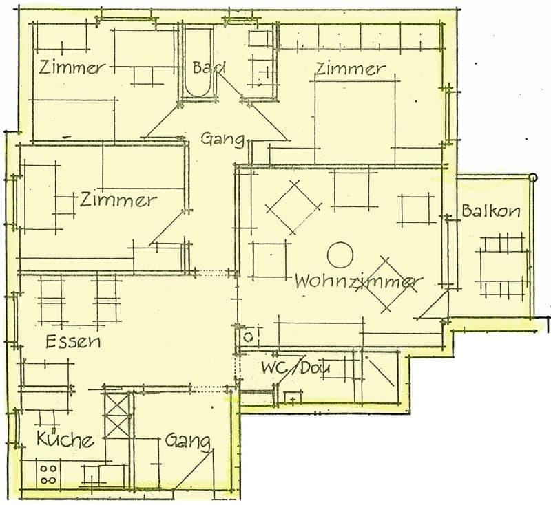 Familienfreundliche  4 ½-Zimmer-Wohnung
