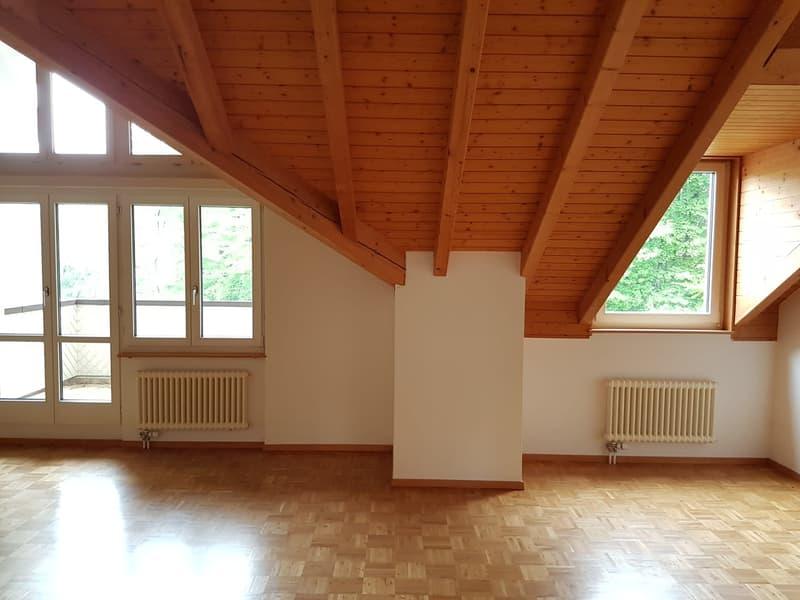 Unglaublich heimelige und grosszügige 3 ½-Zimmer-Dachwohnung
