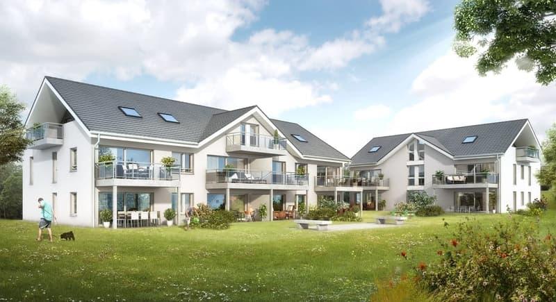 Neue 3.5-Zimmer-Wohnung mit 172 m2 Gartenfläche (LETZTE WOHNUNG!)
