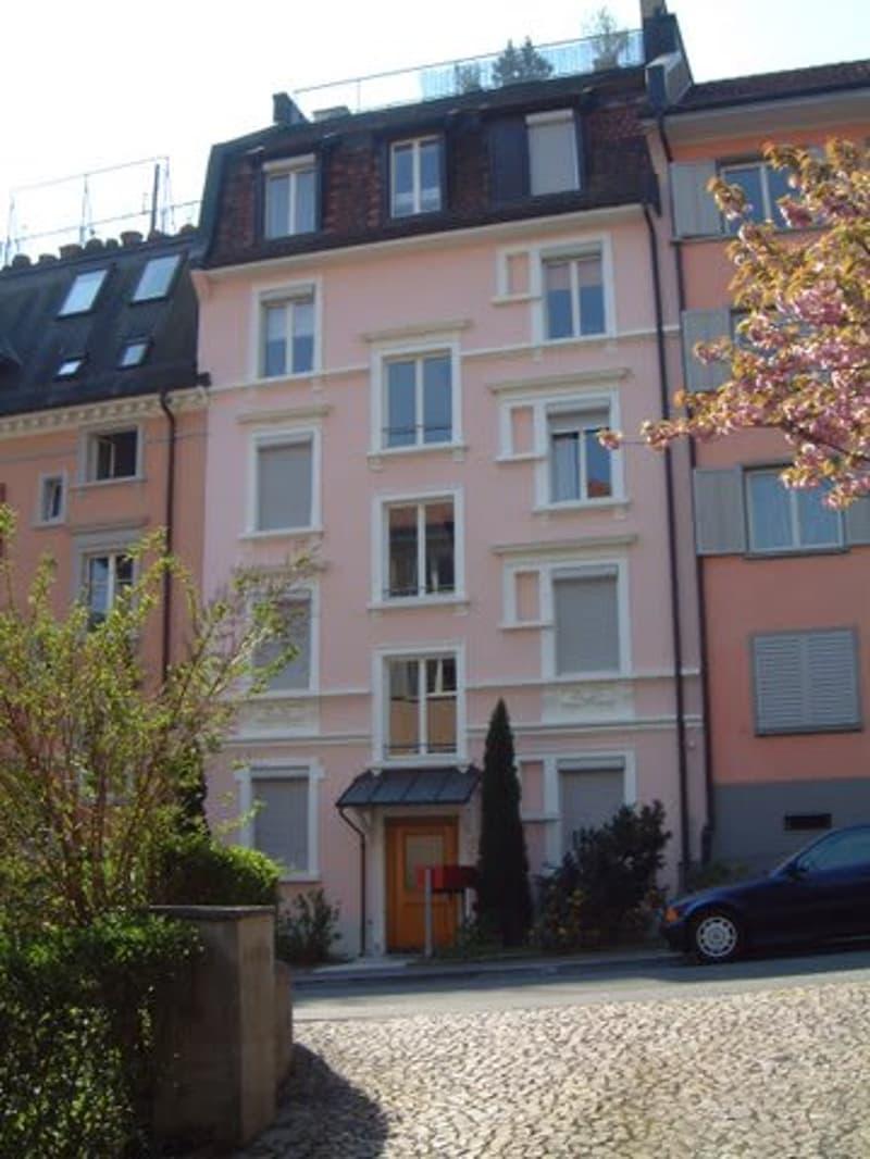Zürich 8002: Schöne Stadtwohnung mit eigenem Garten ca 80 m2 (1)