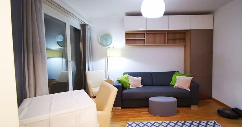 Möblierte Wohnung an ruhiger, guter Lage / geeignet für Kurzmiete aber auch für Länger