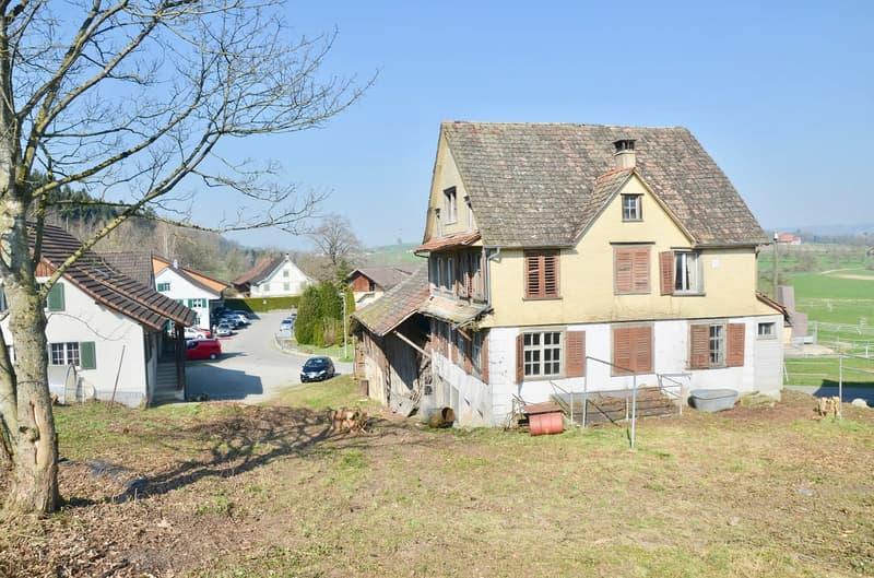 Original, altes Bauernhaus • Renovationsbedürftig • Eigenheim im Grünen