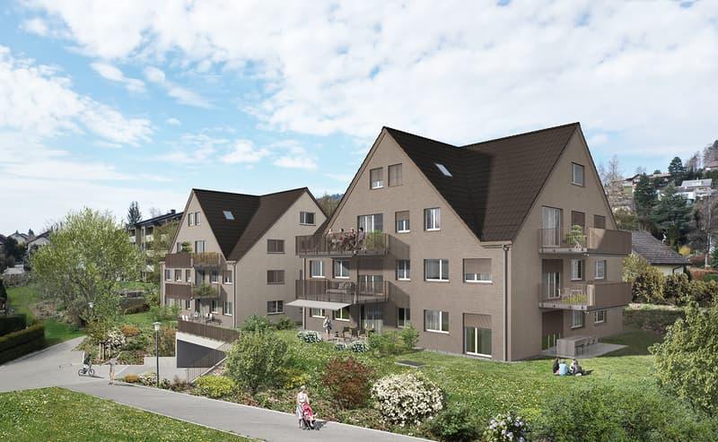 "NEUBAUPROJEKT ""Zelgli"" 5.5-Zimmer-Dach-Maisonettewohnung"