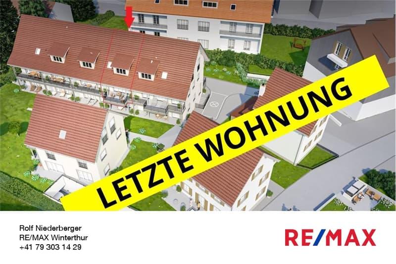 """Letzte Wohnung: 3.5-Zi.-Maisonette-Wohnung im OG/DG im """"Smile-Dörfli"""""""