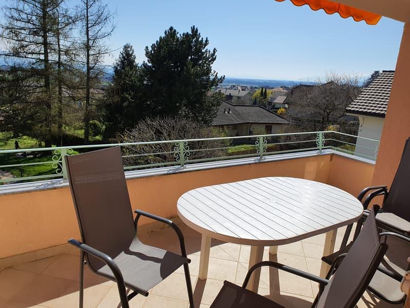 Magnifique attique à Gilly, belle vue, grand balcon et très calme (1)