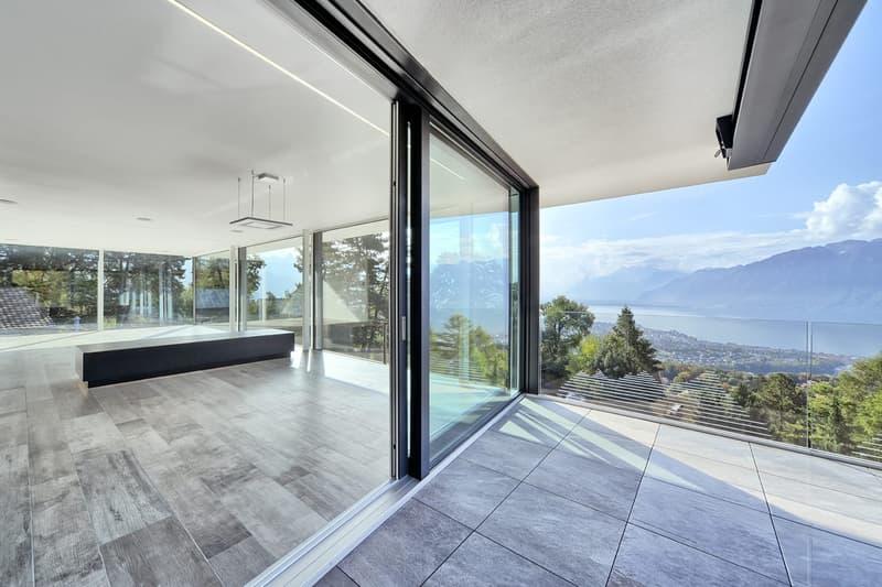Maison panoramique d'architecte neuve, super équipée, sans nuisances
