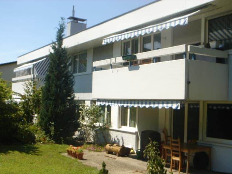 Rückseite mit Garten / Backside of house with garden