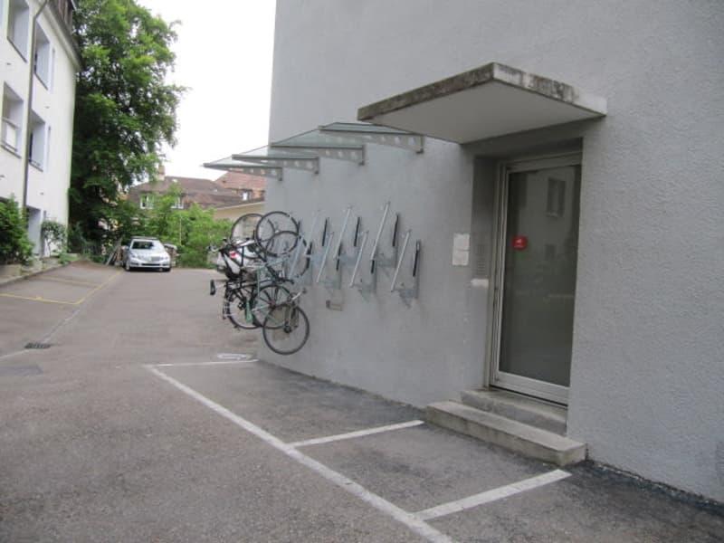 Parkplatz fürs Fahrrad - kostenlos