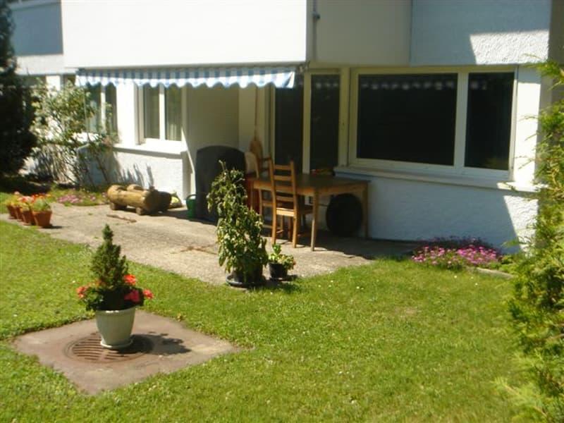 Garten mit Sitzplatz / garden with sitting area
