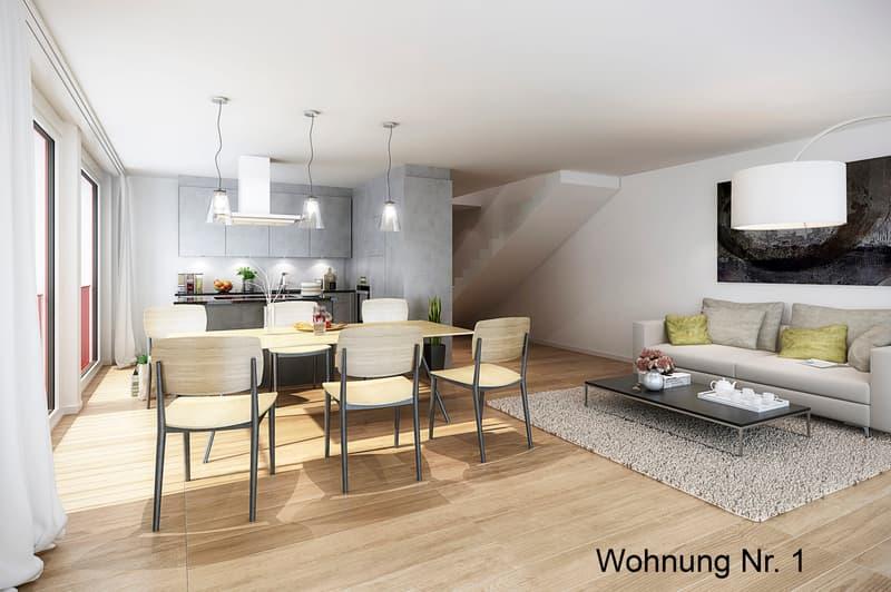 Sonnige Duplexwohnung mit Garten an ruhiger Lage (1)