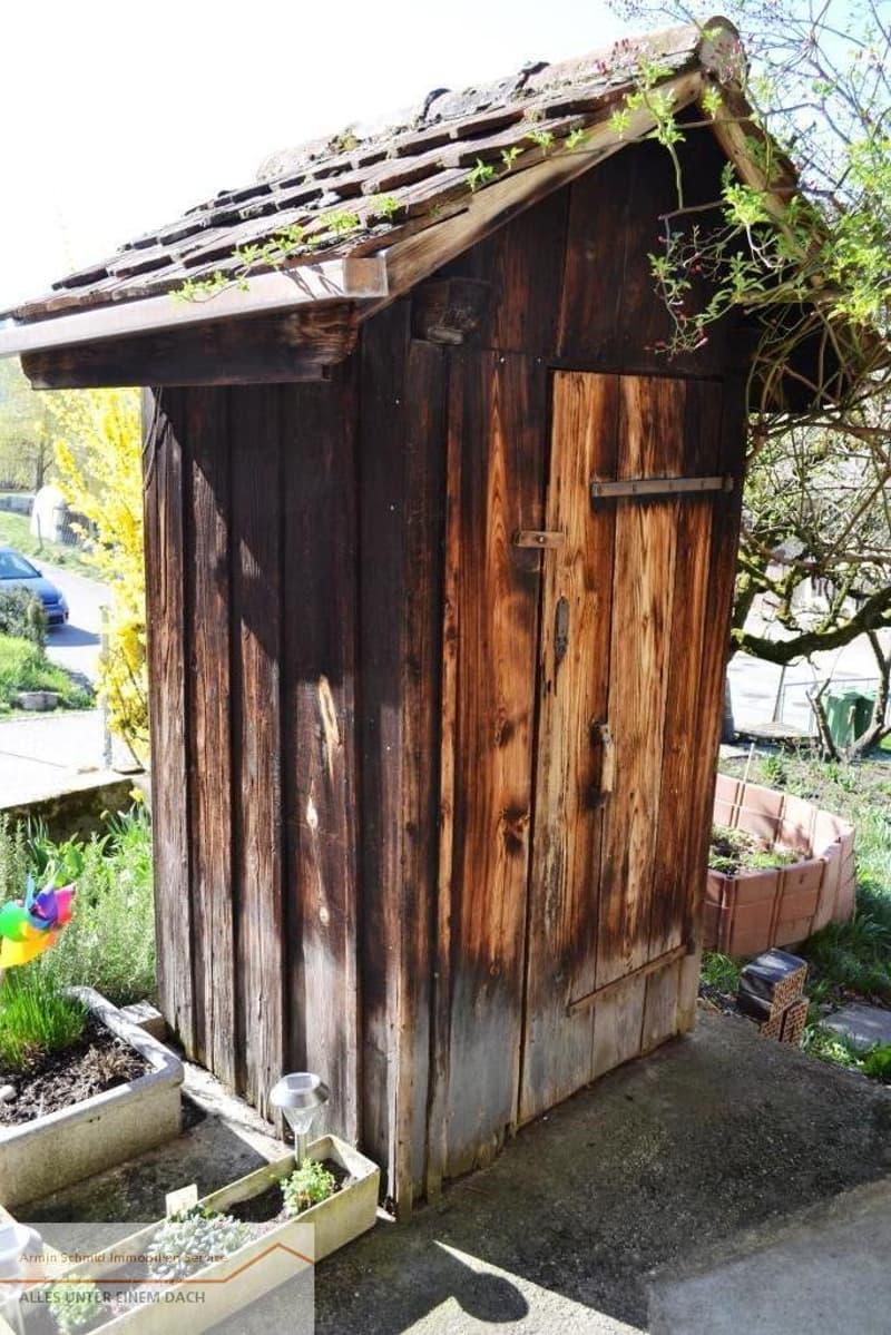 WC-Häuschen
