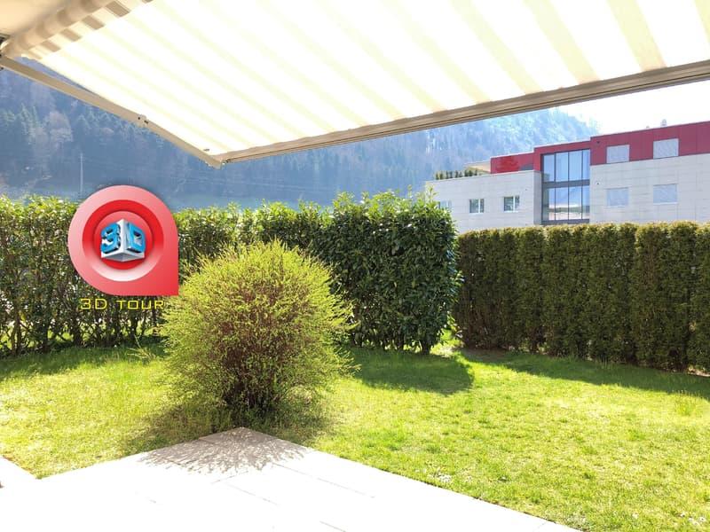 Helle 3½ Zimmer Wohnung an bevozugter Lage in Luzern-Littau (1)